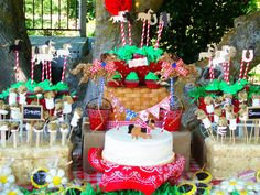 horse themed birthday party | My daughter's 3rd Birthday Party Horse Farm themed party. She is ...