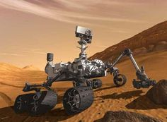 El robot explorador 'Curiosity'