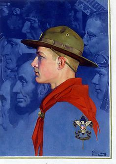 Norman Rockwell Boy scouts of america - Google Search