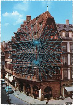 I see this building on a weekly basis-- lucky to live in Strasbourg, France.