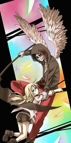 Angel of Slaughter Fanart Ray and Zack