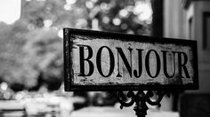 If you don't say bonjour in these situations the French will think you're very, very rude