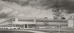 Owens Illinois Technical Center 1956 (Perrysburg, Ohio) Perrysburg Ohio, Toledo Ohio, Altars, Illinois, Photographs, Louvre, Building, Travel, Viajes