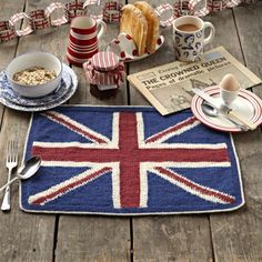 union flag knitting pattern
