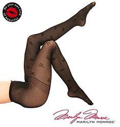 aceb412b6 Marilyn Monroe Women Sheer Pantyhose Tights Stockings size A Cheetah Lips