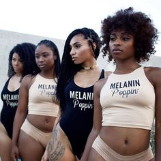 #Melanin x @Shopdopefein