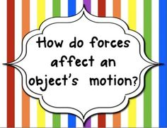 8th grade Science Guiding Questions for Force and Motion Unit - Science Teaching Junkie - TeachersPayTeachers.com