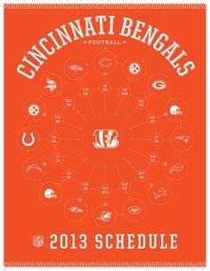 Cincinnati Bengals 2013 Schedule