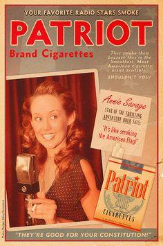 Patriot Brand Cigarette Ad
