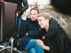 Céline Sciamma and Adèle Haenel on the set of 'Portrait of a Lady on Fire' The film-maker talks to Alexandra Pollard about growing up gay at a time before the internet, male privilege in cinema, and why Wonder Woman changed her life Adele, Celine Sciamma, French Directors, Luis Bunuel, Fire Movie, German People, Jean Luc Godard, Movie Couples, The Best Films