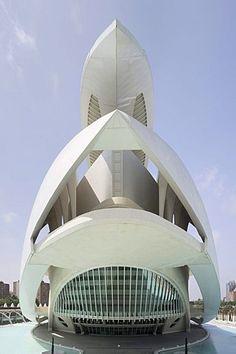 Opera House Palau de les Arts Reina Sofía, Ciudad de las Artes y las Ciencias Ciudad de las Artes y las Ciencias, Valencia, Comunidad Valencia, España, Europa