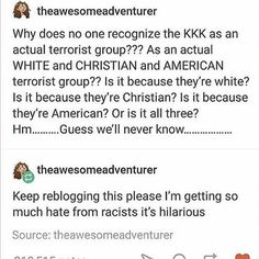 http://ibeebz.com<wait, they aren't??? Why the heck not??? They're most definitely terrorists??? Bad people doing bad things in the name of twisted out of context things from a religion???? Hmmm... Sound familiar??? Yeah. (Coming from an exasperated Christian)