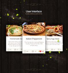 Tabke UI/UX by Stanislav Hristov, via Behance