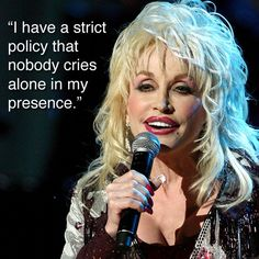26 Dolly Parton Quotes That Prove She's Cooler and Smarter Than She Gets Credit For - Dolly Parton - Zimbio