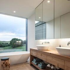 Badje met uitzicht