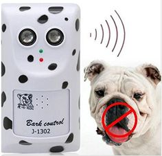 New Electronics Us Pin Charger Adapter Humanely Ultrasonic Anti No Bark Control Device Stop Dog Barking Silencer Hanger