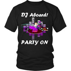 Now available on our store: Limited Edition -... Check it out here! http://shop.heshegift.com/products/limited-edition-dj-aboard-party-on-purple?utm_campaign=social_autopilot&utm_source=pin&utm_medium=pin