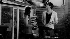 cute smoke kiss skins ship Freddie effy Skins UK effy stonem coupe gen 2 effy and freddie