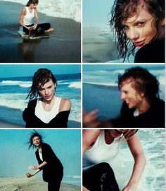 Taylor Swift, behind the scenes of the Rolling Stone 2014 photo shoot.