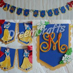 Hey, I found this really awesome Etsy listing at https://www.etsy.com/listing/511815306/snow-white-banner-princess-banner