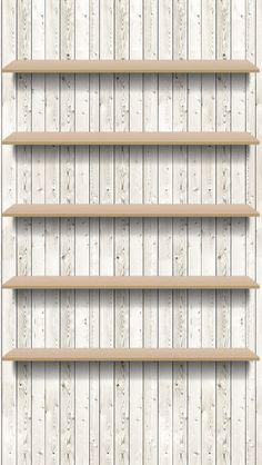 iPhone wallpapers обои shelves