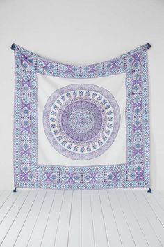 plum and bow devi medallion tapestry   UO