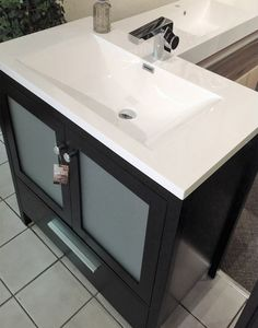 Vanity Light Gta : Bathroom Reno on Pinterest Vessel Sink, Small Bathrooms and Bathroom Vanities