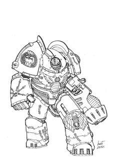 Imperial Fists - Pramus Kholosk by Greyall on DeviantArt
