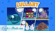 Lullabies Collection of Lullabies Music for babies Bedtime Songs for children LulekandRosie.com