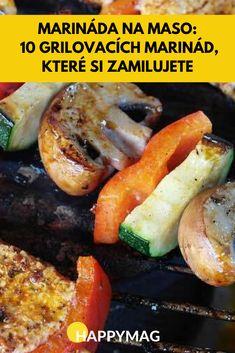 Marináda na maso u grilování je jedna z nejdůležitějších věcí, která je potřeba, abyste si pořádně pochutnaly. Zkuste tyhle, zamilujete si je. #marinadanamaso #grilovani #recepty Pesto, Hot Dogs, Barbecue, Sausage, Grilling, Food And Drink, Gluten Free, Ethnic Recipes, Anna