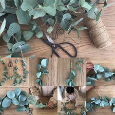 Ihr Lieben, wie versprochen kommt hier eine kleine Anleitung für unsere sehr geliebten Eukalyptuskränze. Ich habe zwei Varianten für euch vorbereitet, einen ganz zarten aus sich aneinanderreihenden…