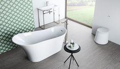 O cada de mijloc este cea mai frumoasa decoratiune pentru o camera de baie spatioasa sau un centru balnear. Află mai multe sau comandă online #FANBAIE #baimoderne #bucuresti #bucharest #amenajariinterioare #interiordesign #bathroom Creta, Bathtub, Bathroom, Interior, Design, Standing Bath, Bath Room, Bath Tub, Indoor