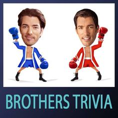 Who wants #BrothersTrivia? Write your own questions too! Did u know we film as many episodes in the US as in Canada?