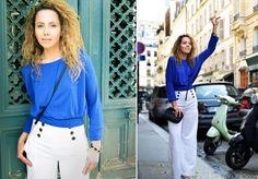 Model Sedcard shooting in Paris.