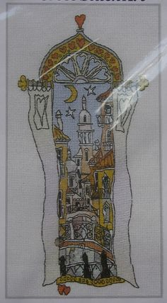 Michael Powell: Venice Windows 3 ~ Cross Stitch Kit