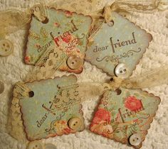 My Dear Shabby Friend by misseskwittys on Flickr.