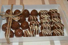 CHOCOLATES RELLENOS DE CEREZA Y CAJETA
