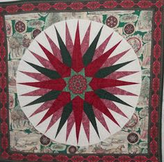 Mariner's Compass quilt
