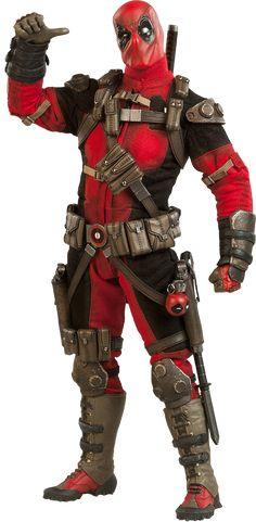 BLOG DOS BRINQUEDOS: Deadpool Marvel Sixth Scale Figure