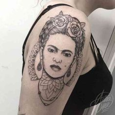 These 22 Frida Kahlo Tattoos Are Badass Pieces Of Art