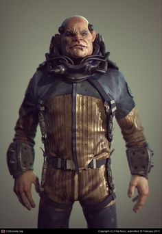 CGTalk - Just this last job, Filip Novy (3D)