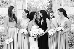Bridesmaids in Twobirds Dresses