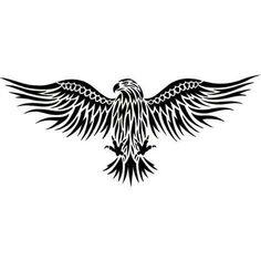Eagle Tattoos, Tattoo Designs Gallery - Unique Pictures and Ideas Eagle Wing Tattoos, Black Eagle Tattoo, Tribal Eagle Tattoo, Black Bird Tattoo, Tribal Sleeve Tattoos, Chest Piece Tattoos, Chest Tattoo, Bird Of Prey Tattoo, Thunderbird Tattoo