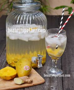 DIY Detox Water to Help you Lose Weight and Cleanse your Body | Beauty and MakeUp Tips