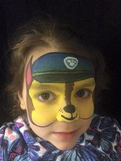Paw Patrol face painting by Catita Lorenzo