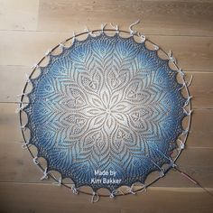 Crochet Mandala Pattern, Crochet Diagram, Crochet Doilies, Crochet Yarn, Crochet Patterns, Dream Catcher Mandala, Lace Dream Catchers, Tatting Patterns, Doily Patterns