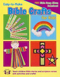 Easy to Make Bible Crafts for Kids - Plus Free Song Album Download (Bible Crafts) by Kim Mitzo Thompson,http://www.amazon.com/dp/B00CRJSJVY/ref=cm_sw_r_pi_dp_Nnsdsb05F6S9HYTJ