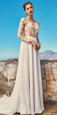 "Elbeth Gillis 2017 Wedding Dresses — ""Milk and Honey"" Bridal Separates…"