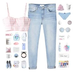 """♡ what's your favorite word? you like kissing girls?"" by nervous-touch ❤ liked on Polyvore featuring MANGO, Hello Kitty, Various Projects, MAC Cosmetics, KEEP ME, H&M, Fresh, Sugarbaby, Victoria's Secret and Superga"
