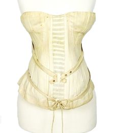 Rare unworn Royal Worcester maternity corset c. 1892 I www.SarahElizabethGallery.com